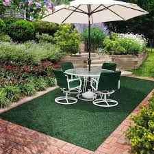green grass like outdoor rugs for patios image 11 of 15