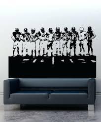 snowboard wall decals sports wall stickers sports decals for walls vinyl wall  decal sticker football team