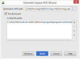 Generating a Signed Release APK File in Android Studio Techotopia