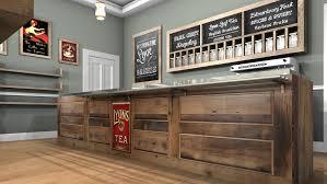 Tea Room & Coffee Shop Interior