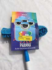 ceiling fan duster with extension pole. phanna microfiber cloth ceiling fan duster with extension pole, blue/white pole 0