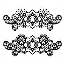 Henna Pattern Stunning Mehndi Indian Henna Tattoo Pattern By RedKoala GraphicRiver