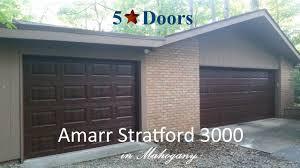 Garage Door amarr garage door reviews photographs : Amarr Stratford 3000 - YouTube