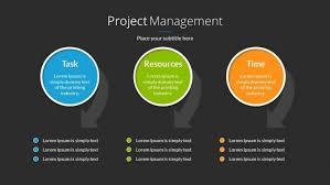 Powerpoint Project Management Templates Project Management Powerpoint Template Example