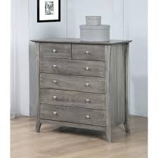 copper grove stone dark burnt grey 6 drawer chest of drawers bedroom furniture