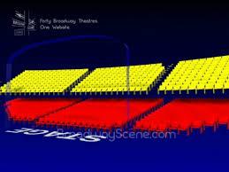 Music Box Theatre New York Seating Chart Music Box Theatre 3 D Broadway Seating Chart History Info