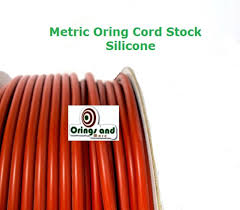 Metric O Ring Cord Red Silicone 1 5mm Price Per Foot
