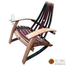 wine barrell furniture. adirondack wine barrel chairs glass holder left side by zinchairnet barrell furniture w
