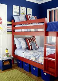 bedroom furniture interior fascinating wall. Interesting Images Of Red And Blue Bedroom Decorating Design Ideas : Fascinating Furniture Interior Wall O