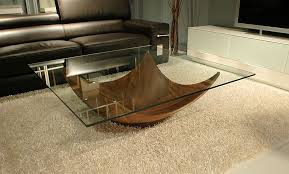 image of contemporary wood coffee table furniture