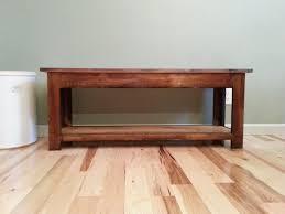simple kitchen bench