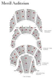 State Theater Portland Me Seating Chart Seating Chart Merrill Auditorium Porttix