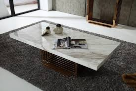 modern marble top and rosegold base coffee table fort worth texas white malaysia classic furniture contemporary