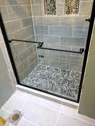 adhesive tiles for shower best tile for shower medium size of black pebble shower floor best