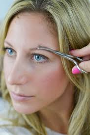 how to trim bushy eyebrows. step 2: trim how to bushy eyebrows
