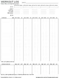 Weight Lifting Templates Weight Lifting Journal Template Training Log Related Post
