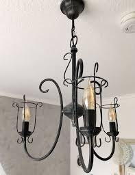 Kronleuchter Mit Led Vintage Edison Leuchten