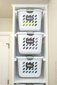 Diy laundry sorter Organization Diy Diy Laundry Basket Organizer built In Make It And Love Make It And Love It Diy Laundry Basket Organizer u2026built In Make It And Love It