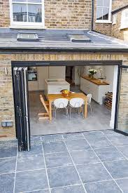 bi fold doors kitchen