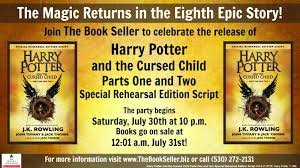 the magic returns in the eighth epic story harry potter and the cursed child parts one and two special rehearsal edition script join us for games