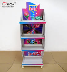 Free Standing Shop Display Units Enchanting Freestanding Candy Merchandising Metal Retail Display Stands With