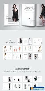 fashion lookbook template free