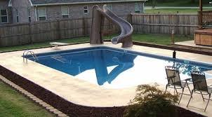Hydra 12x24 Rectangle Inground Pools 6 Radius Corners