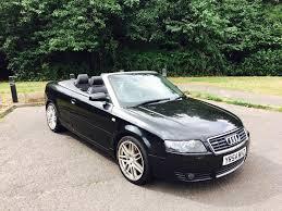 black audi a4 2004. audi a4 convertible 2004 54 reg black electric roof rs4 alloys black audi