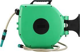 82 foot portable garden water hose reel holder storage in garden garden hose reel retractable