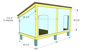 insulated dog house plans dog house plans easy dog house plans large dogs luxury easy dog