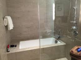 bath and shower combo contemporary bathtub picture of trump international hotel tower inside 13