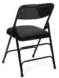 set of folding chairs. 5pc XL Series Folding Card Table And Fabric Padded Chair Set, Black Set Of Chairs I