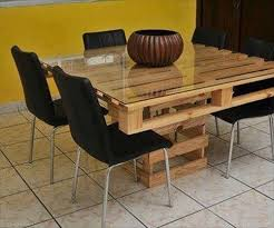 Making Dining Table with Wood Pallet | Pallets Furniture Designs