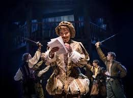 theater review shakespeare in love chicago shakespeare  this shakespeare nick rehberger as the talented trickster suffers from writer s block he s overdue to deliver a new play horrendously called romeo and