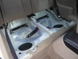 replaced cloth seat covers for leather rear seat removed jpg
