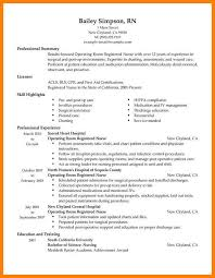 Examples Of Nursing Resumes Interesting Example Of Nursing Resumes Oncology Nurse Resume Free Letter