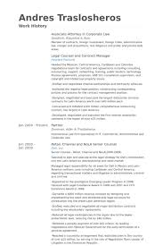 Associate Attorney Resume Samples Visualcv Resume Samples Database