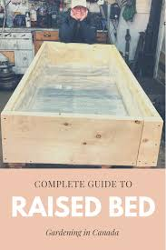 raised garden bed guide by a soil