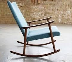 Modern rocking chair nursery