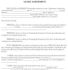 House Rental Agreements Template – Jewishhistory.info