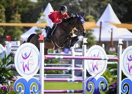 Olympic Equestrian Debut ...