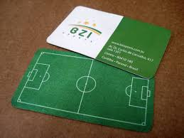 Soccer Business Card 100 Remarkably Creative Business Cards Bluefaqs