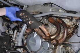 trx400ex sportrax honda online atv service manual cyclepedia honda trx400ex exhaust system removal