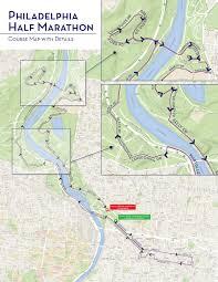 What The Philadelphia Marathons Half Marathon Course Looks