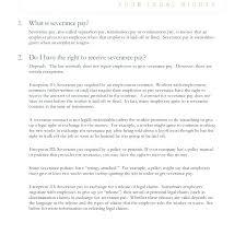Employment Separation Letter Template Sample Termination Letter