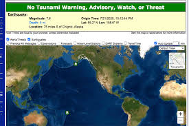 Tsunami warning system — a tsunami warning system is a system to detect tsunamis and issue warnings to prevent loss of life and property. Tsunami Warning Canceled Peninsula Clarion
