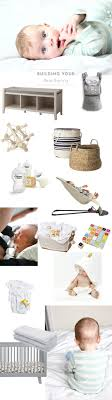 Registry Checklist: New Baby Essentials - Hither & Thither