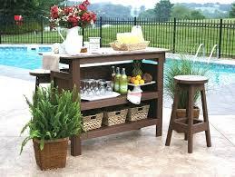 Patio Bar Tables S Outdoor Patio Bar Table Set techsaucesummitco
