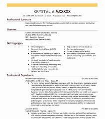 Objective Sample For Resumes Health Unit Coordinator Objectives Resume Objective