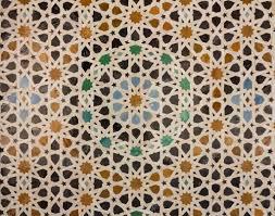 der arabischen Fliesen oder Mosaik — Stockfoto #31370813
